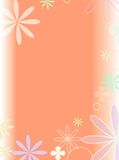 background. Flower power background Stock Photography