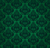 Background. Green background with stylized patterns Royalty Free Stock Photo