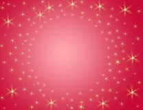 Background. Red background whit little stars Stock Photos