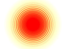 Background. Abstract sun background with rounds Stock Photos