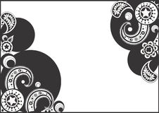 Background. A illustration of a decorative background stock illustration