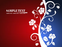 Background. The three color backgrond vector Royalty Free Stock Photography