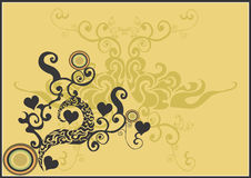 Background. A  illustration of a decorative background Royalty Free Stock Image