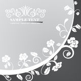 Background. Fully editable vector banner illustration Royalty Free Stock Photos