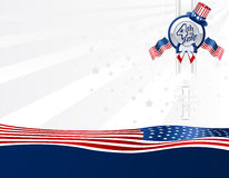 Background 4th of July Stock Photo