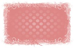 Background. Pink stylish backgrounds with ornaments Royalty Free Illustration