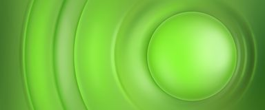 Background. With different shades of green and circles royalty free illustration