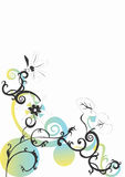 Background. Vector illustration of a decorative background Royalty Free Stock Images