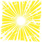 Background. Yellow summer grunge background Royalty Free Stock Images