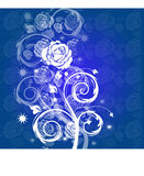 Background. An explosion of the rose and the arabesque Stock Image