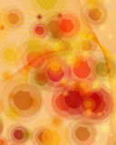 Background. Round retro background with sad -isolated vector illustration