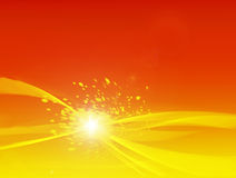 Background. A yellow and red background Royalty Free Stock Photos