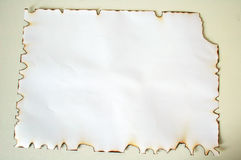 Background. Burn Paper Royalty Free Stock Images