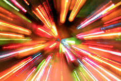 Background. Of multiple colorful lights Royalty Free Stock Images