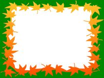 Background. Appear with isolated leafs like photo frame also Royalty Free Stock Photo