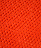 Background. The red background of the dot shape Stock Photography
