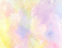 Background. A bright and light watercolor painting for your background Royalty Free Stock Photos