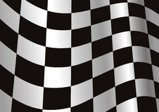 Background. Computer generated end-of-race flag Royalty Free Stock Photo
