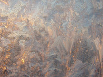 Background 9. Frost drawing stock photography