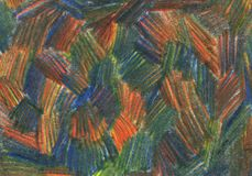 Background. An hand drawn abstract background Royalty Free Stock Photography