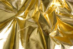 Background abstarct Gold sheet Royalty Free Stock Photos
