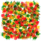 Background abstract  autumn leaves abstract background. Background autumn leaves abstract background Royalty Free Stock Image