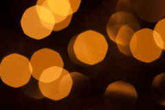 Background Abstract of Blurry Lights Royalty Free Stock Image