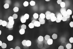 Background abstract bokeh. Black and white Background abstract bokeh golden color Stock Photo