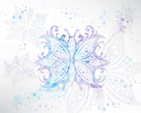 Background Abstract Butterfly Vector. Illustration vector background eps10, Background Abstract Butterfly Vector Royalty Free Stock Photography