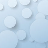 Background with abstract circle design elements Royalty Free Stock Photo