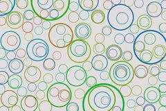 Background abstract circles, bubbles, sphere or ellipses pattern for design. White, wallpaper, texture & art. Background abstract circles, bubbles, sphere or Royalty Free Stock Image