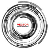 Background abstract. Background with circular abstract lens design, vector illustration Stock Illustration