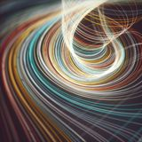 Background Abstract Colored Cyclone vector illustration
