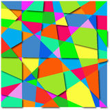 Background abstract of colorful shapes. Vector illustration royalty free illustration