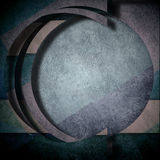 Background abstract composition, round circle geometric Stock Photo