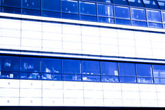 Background abstract construction. Blue background abstract construction crop windows Royalty Free Stock Photography
