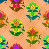 Background, abstract flowers Royalty Free Stock Images