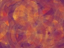 Background. Abstract geomethric elipse orange-purple-violet background vector illustration