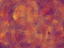 Background. Abstract geomethric elipse orange-purple-violet background Royalty Free Stock Photo