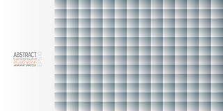 Background abstract geometric gray from circles squares vector.  stock illustration
