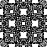 Background, abstract geometric seamless pattern, vector Royalty Free Stock Photography