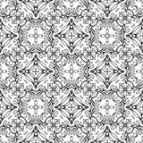 Background, abstract geometric seamless pattern, vector Royalty Free Stock Image