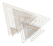 Background abstract geometric triangle pattern for design. Wallpaper, illustration, color & shape. Background abstract geometric triangle pattern for design vector illustration
