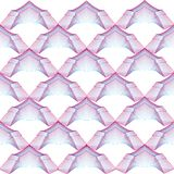 Background with abstract geometrical arches Royalty Free Stock Images