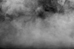 Background of abstract grey color smoke Royalty Free Stock Image