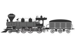Background abstract illustration locomotive veсtor Stock Photo