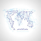 Background Abstract Illustration Political Map Of The World Stock Photos