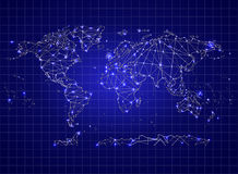 Background Abstract Illustration Political Map Of The World Royalty Free Stock Photo