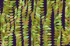 Background abstract leaves drawing pattern for design. Creative, nature, green & concept. Background abstract leaves drawing pattern for design. Style of mosaic Stock Photos