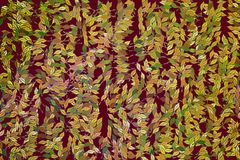 Background abstract leaves drawing pattern for design. Texture, graphic, nature & art. Background abstract leaves drawing pattern for design. Style of mosaic or Royalty Free Stock Images